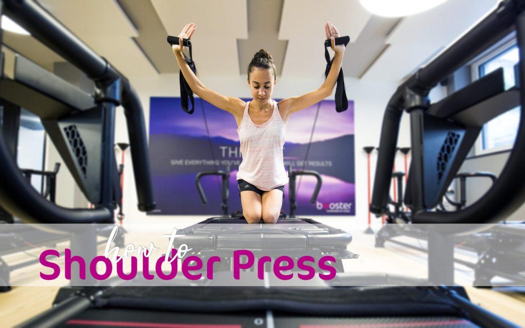 Megamove Kneeling Shoulder Press