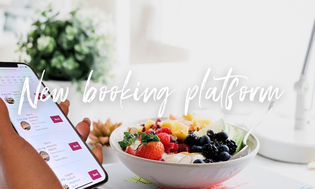 New booking platform